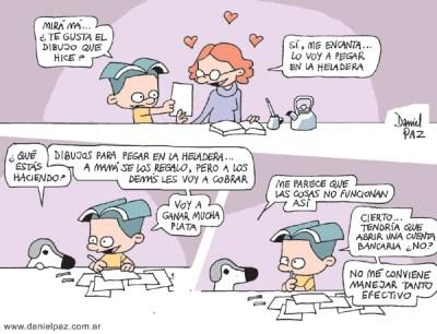 """""""dibujos"""" por Daniel Paz"""