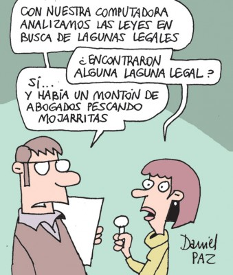 """laguna-legal"" por Daniel Paz"
