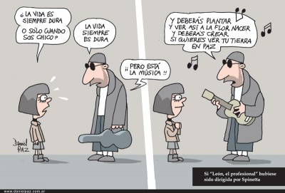 """""""está-la-música"""" por Daniel Paz"""