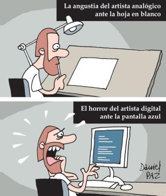 """""""pantalla-azul"""" por Daniel Paz"""