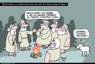 """""""decima plaga"""" por Daniel Paz"""