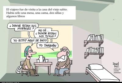 """de paso"" por Daniel Paz"