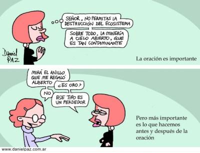"""""""oración"""" por Daniel Paz"""