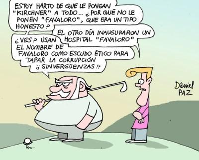 """favaloro"" por Daniel Paz"