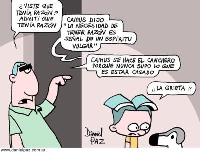 """""""camus"""" por Daniel Paz"""