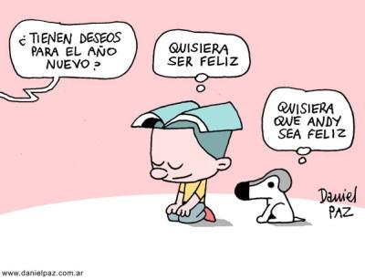"""""""deseo de fin de año"""" por Daniel Paz"""