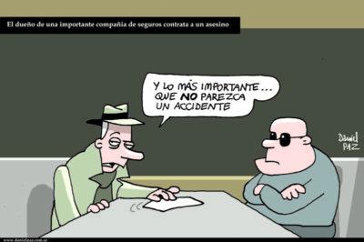 """""""compania de seguros"""" por Daniel Paz"""