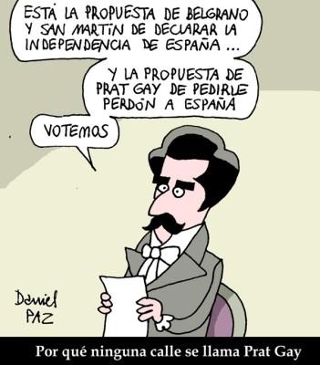"""9 de julio"" por Daniel Paz"