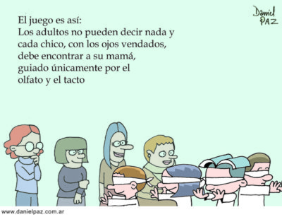 """""""encontrar a mama"""" por Daniel Paz"""