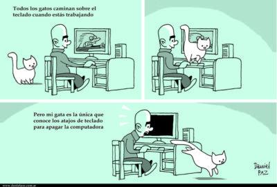 """""""atajos de teclado"""" por Daniel Paz"""