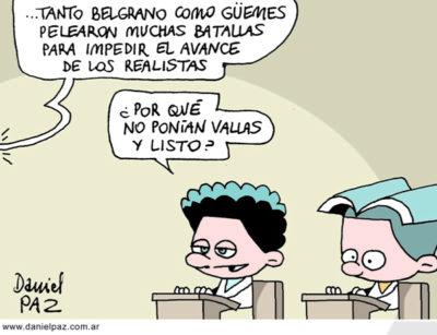 """""""belgrano y güemes"""" por Daniel Paz"""