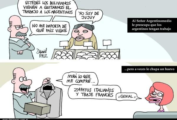 """""""inmigrantes"""" por Daniel Paz"""
