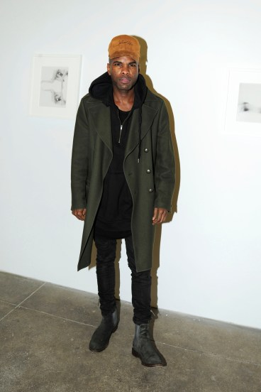 "Keino Benjamin== Kristin Prim ""Close To You"" Debut New York City Exhibition == 516 West 20th Street, NYC== November 21, 2016== ©Patrick McMullan== Photo - Paul Bruinooge/PMC== =="