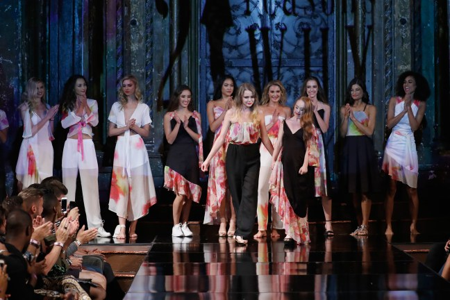MADELINE STUART 21 REASONS WHY At New York Fashion Week Powered By Art Hearts Fashion NYFW
