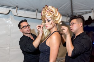 Behind the Scenes- a runway show in the making with Art Loves Fashion, Art Basel Soiree in MIami