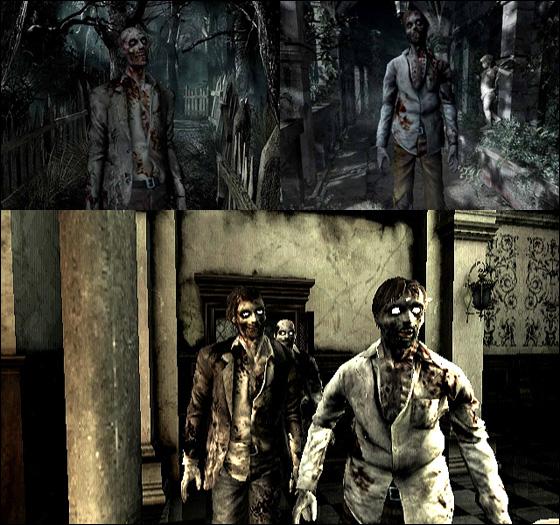 Daniel Primed Hobbyist Game Analysis  Visual Connection Resident Evil Umbrella Chronicles Vs