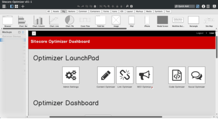 Sitecore Optimizer Dashboard