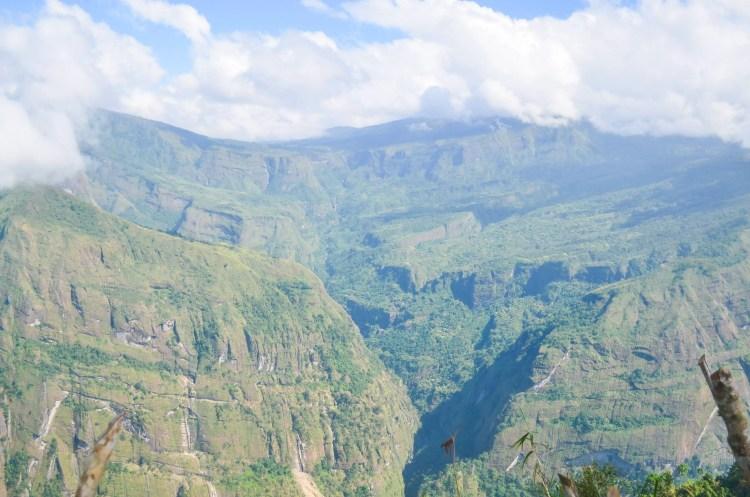 A view of barangay Tacadang from Badeo, Kibungan.