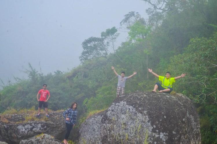 Rock formations at Badeo, Kibungan
