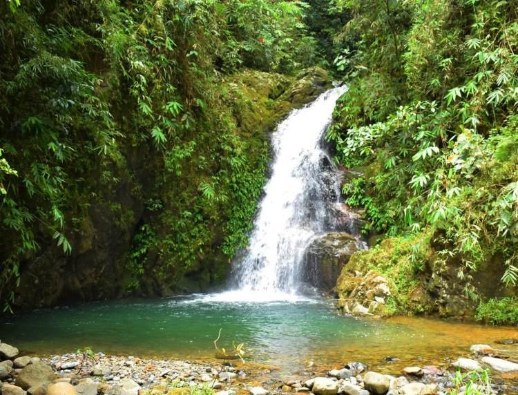 First Shamsham waterfalls, Baayan, Tublay.