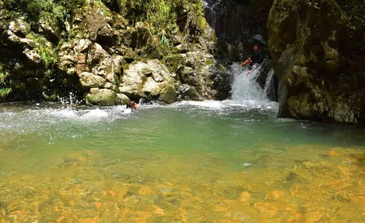 Second Shamsham falls, Baayan, Tublay.