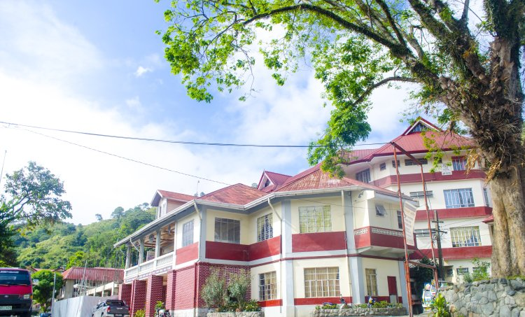 Provincial Capitol of Mountain Province. One of the tourist spots of Bontoc, Mountain Province.