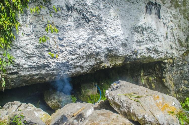 Entrance of Angoten Cave in Belwang, Sadanga.