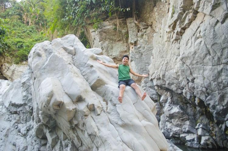 White Rocks near Asin Hot Spring