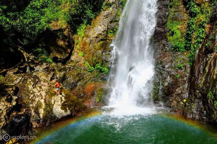 Gololan Falls of Kabugao. One of the tourist spots in Apayao.