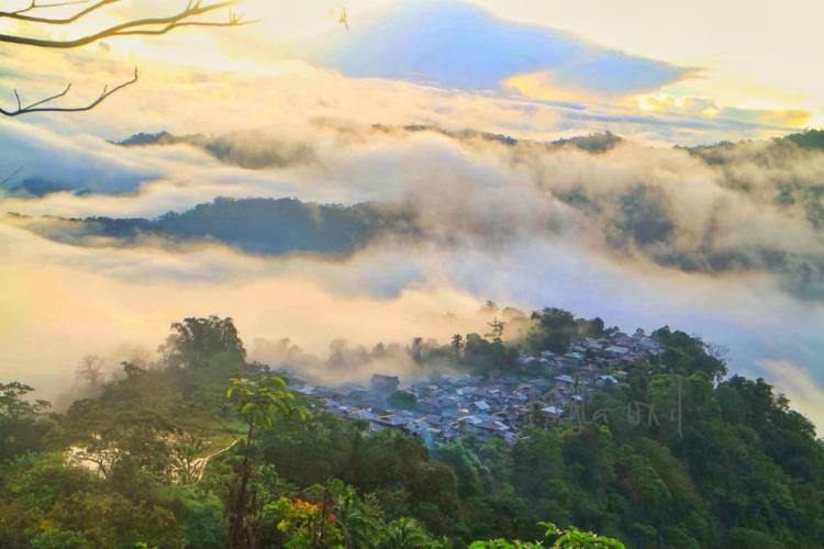 Guinaang Village, Pasil, Kalinga. One of the tourist spots of Kalinga.
