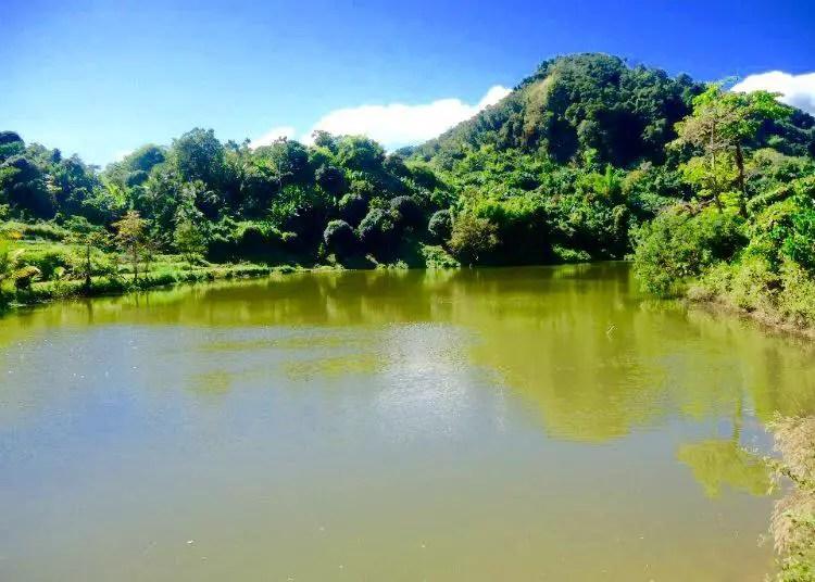 Kimkimay lake. One of the tourist spots of Abra.