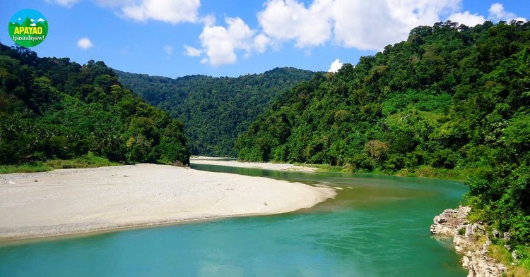 Apayao River. One of the tourist spots of Apayao.