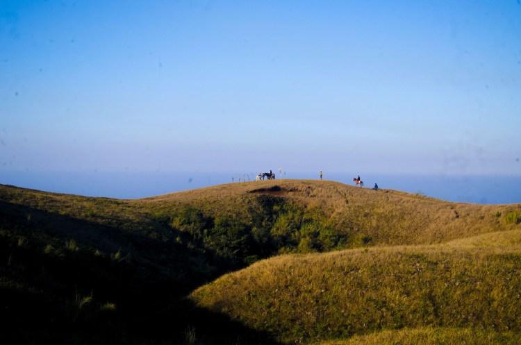 The summit of Mt Yangbew, La Trinidad, Benguet