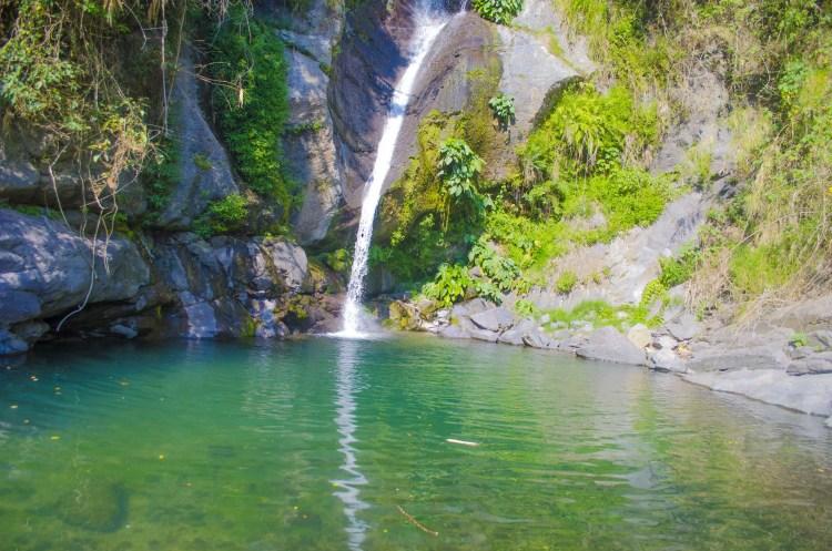 Payogpog falls of Shilan, La Trinidad. One of the tourist spots of Benguet.