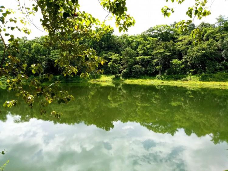 Ambuwaya lake of Kiangan. One of the tourist spots of Ifugao.