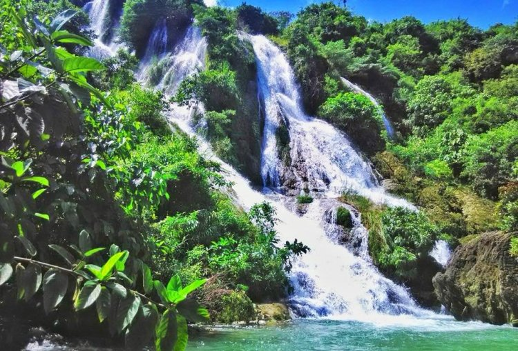 Busay Falls is one of the tourist spots in Pangasinan.