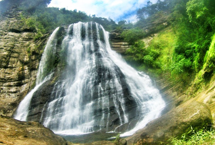 Sangbay ni Ragsak Falls is one of the tourist spots in Ilocos Sur.