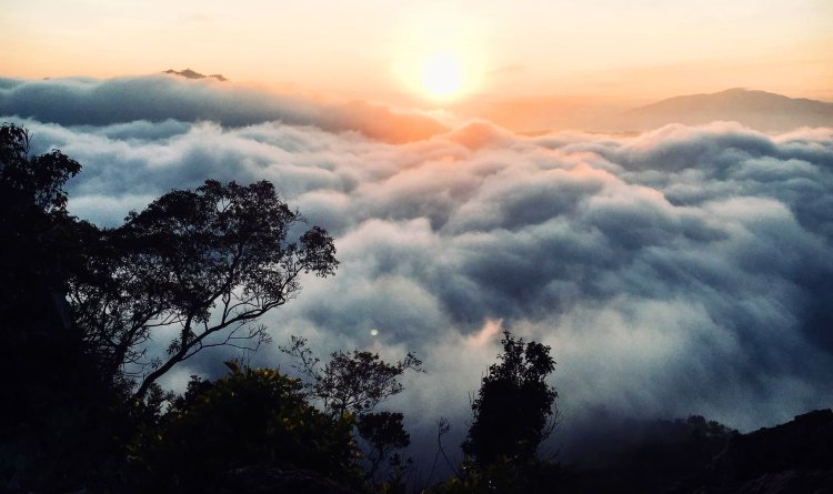 Gulon Peak is one of the tourist spots in Nueva Vizcaya,