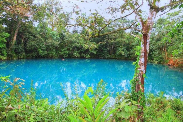 Palanan Blue Lagoon is one of the tourist spots in Isabela province.