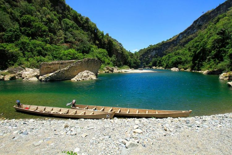 Pinacanauan River is one of the tourist spots in Cagayan valley.