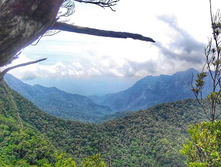 Mt Mariveles is one of the tourist spots in Bataan