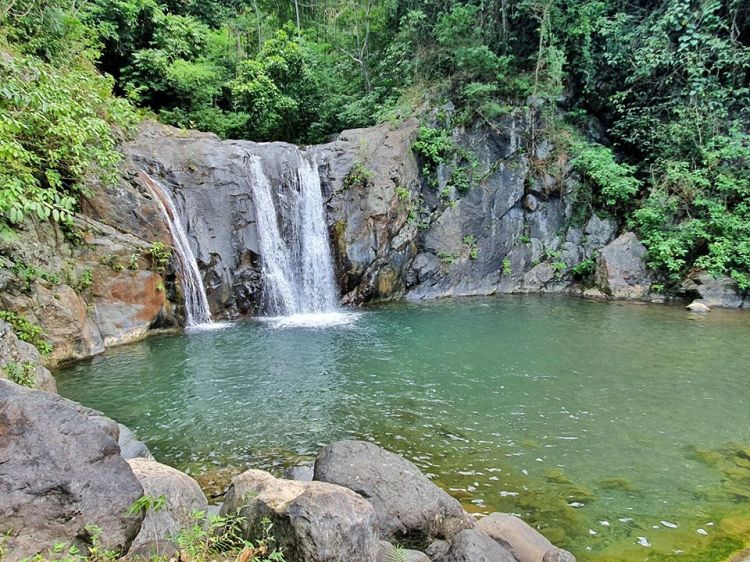 Tagnote Falls is one of the tourist spots in Agusan del Norte