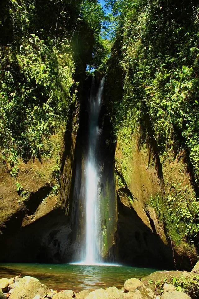 Virgin Falls is one of Davao Del Sur tourist spots