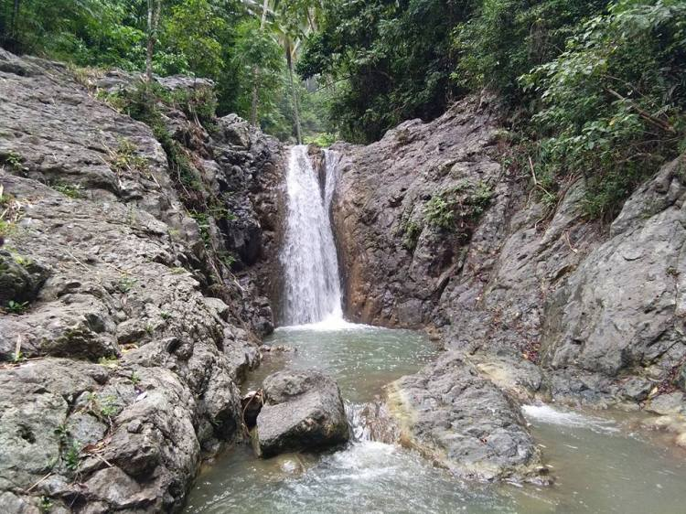 Kapiya Falls is one of the acclaimed Davao Occidental tourist spots