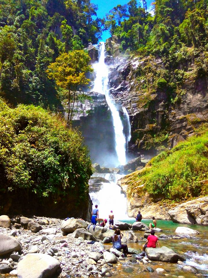 Malumagpak Falls is one of Davao De Oro tourist spots