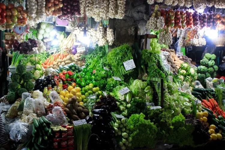 Vegetables at Baguio Public Market