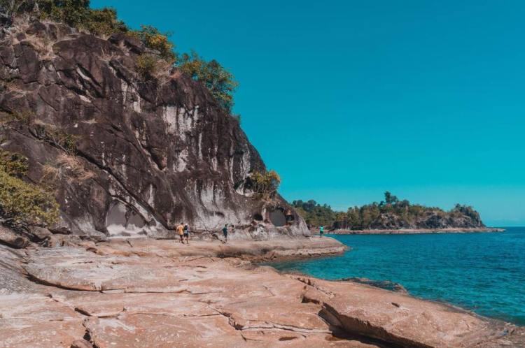 Bisaya Bisaya Island is one of Zamboanga Del Sur tourist spots