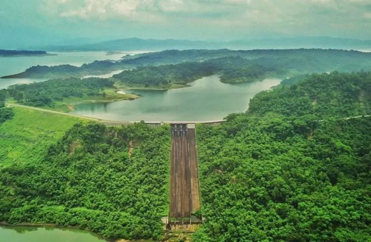 Pantabangan Dam,is one of the tourist spots in Nueva Ecija.