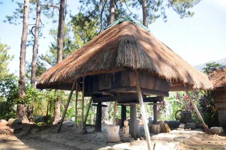 Ifugao house to Winaca Eco Cultural Village