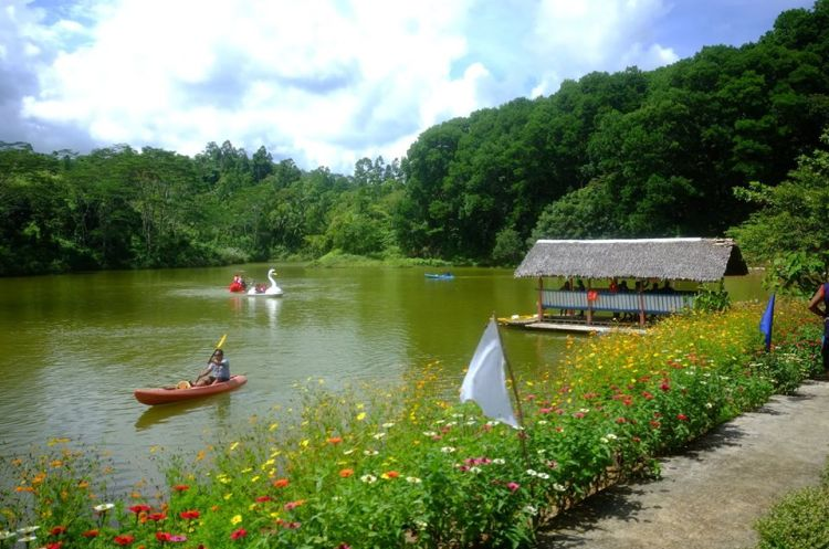 Siloy Man-Made lake is one of Misamis Occidental tourist spots